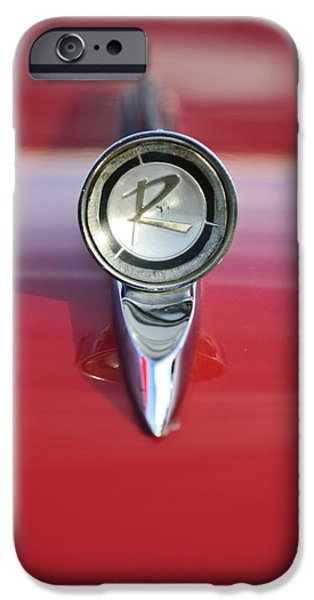 1961 Rambler Hood Ornament iPhone Case by Jill Reger