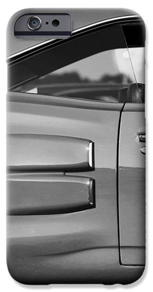 Super Bee iPhone Cases - 1969 Dodge Coronet Super Bee iPhone Case by Gordon Dean II