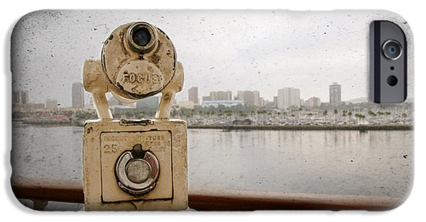Magnification iPhone Cases - 25 Cent Views iPhone Case by Charles Dobbs
