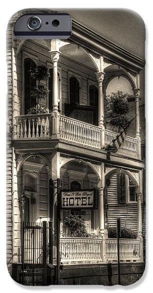 Big Easy iPhone Cases - 905 Royal Hotel iPhone Case by Greg and Chrystal Mimbs