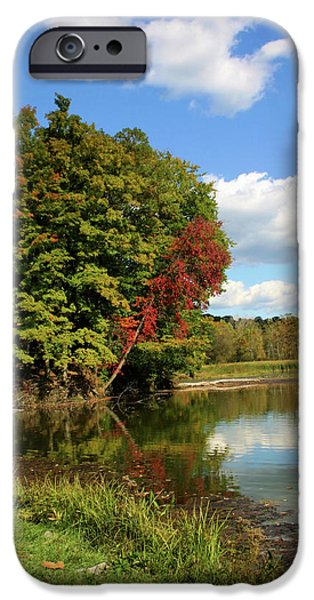 A Touch of Autumn iPhone Case by Kristin Elmquist