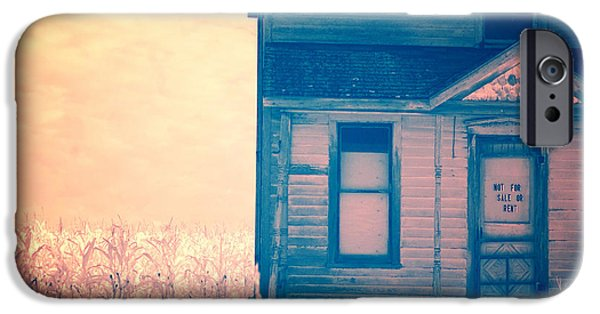 Haunted House iPhone Cases - Abandoned House iPhone Case by Jill Battaglia