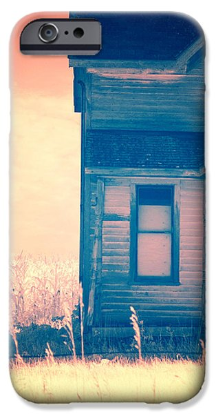 Abandoned House iPhone Case by Jill Battaglia