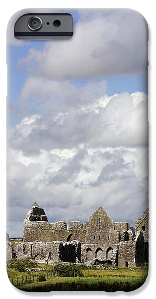 Abbeyknockmoy, Cistercian Abbey Of iPhone Case by The Irish Image Collection