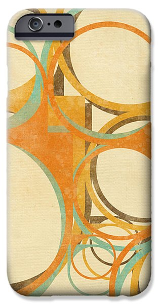 abstract circle iPhone Case by Setsiri Silapasuwanchai