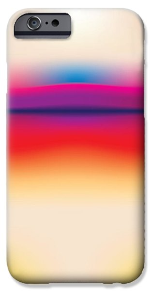 Airbrush iPhone Cases - After Rothko 5 iPhone Case by Gary Grayson