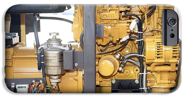 Compressor iPhone Cases - Air Compressor iPhone Case by Photostock-israel