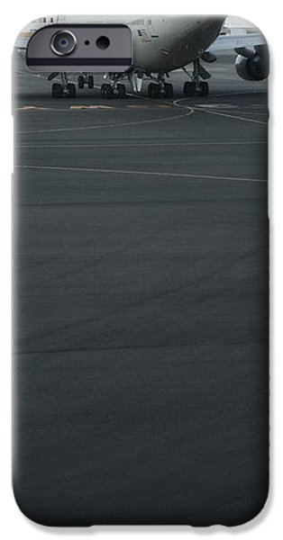 Airport Tarmac iPhone Case by Shannon Fagan