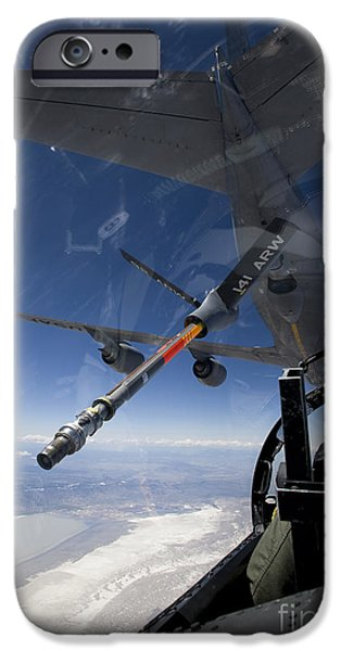 An F-15 Eagle Pulls Into Position iPhone Case by HIGH-G Productions