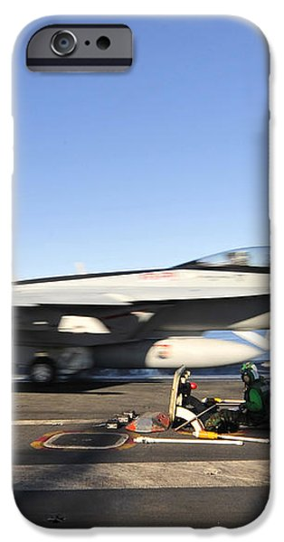 An Fa-18f Super Hornet Launches iPhone Case by Stocktrek Images