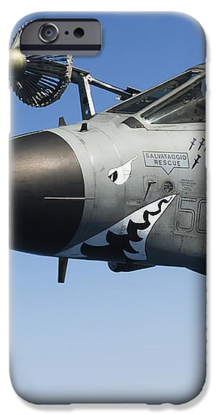 An Italian Air Force Tornado Ids iPhone Case by Gert Kromhout