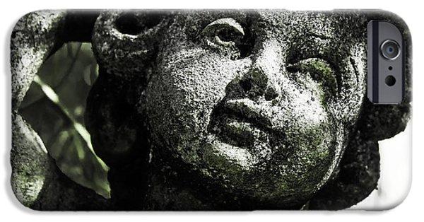 Angel. Spiritual iPhone Cases - Angel iPhone Case by Joana Kruse
