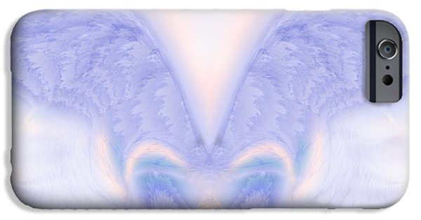 Seraphim Angel iPhone Cases - Angel Wings iPhone Case by Christopher Gaston