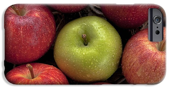 Apple Photographs iPhone Cases - Apples iPhone Case by Joana Kruse
