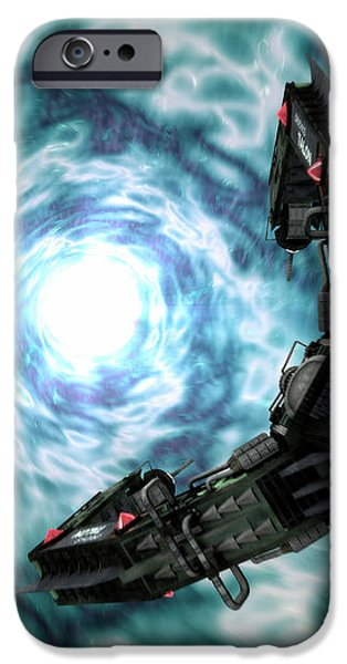 Artists Concept Of The Assimilators iPhone Case by Rhys Taylor