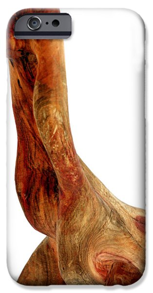 Abstract Sculptures iPhone Cases - Bailando 2 iPhone Case by Jorge Berlato
