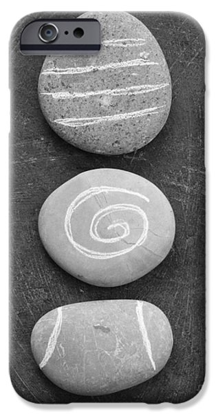 Rocks iPhone Cases - Balance iPhone Case by Linda Woods