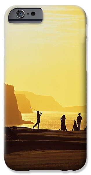 Ballycastle Golf Club, Co Antrim iPhone Case by The Irish Image Collection