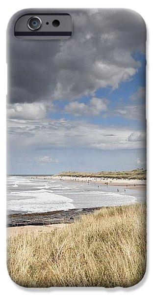 Bamburgh Castle Northumberland, England iPhone Case by John Short