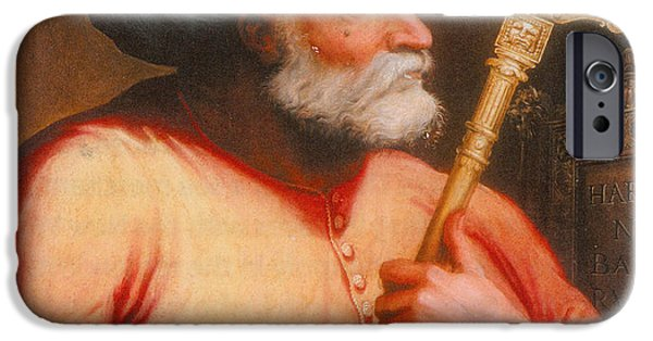 Dominating iPhone Cases - Barbarossa, Ottoman Turkish Admiral iPhone Case by Photo Researchers