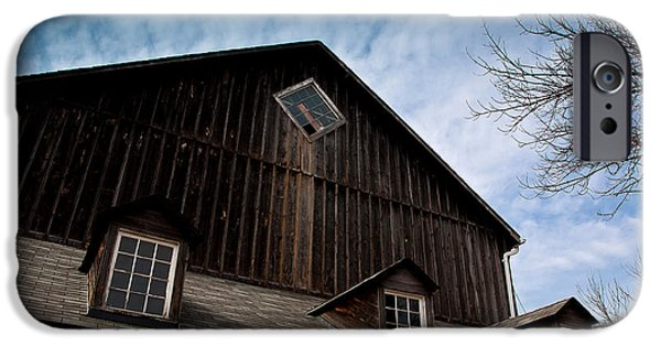 Barns iPhone Cases - Barn iPhone Case by Cale Best