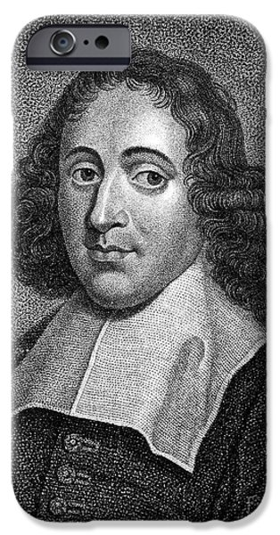 BARUCH SPINOZA (1632-1677) iPhone Case by Granger