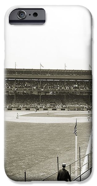 BASEBALL GAME, c1912 iPhone Case by Granger
