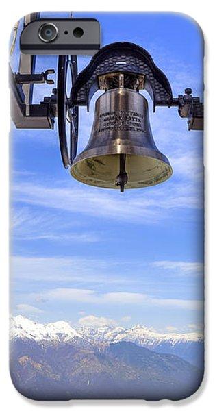 bell in heaven iPhone Case by Joana Kruse