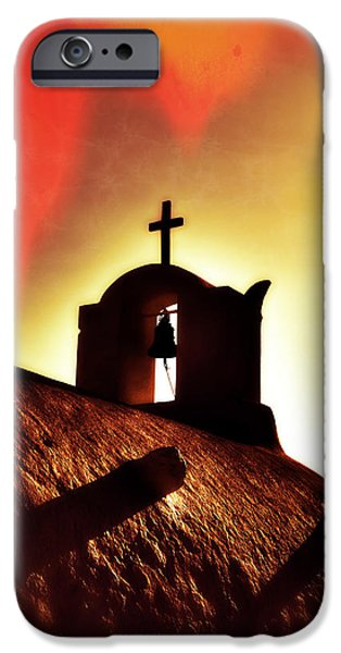 Bell iPhone Cases - Bell Tower iPhone Case by Joana Kruse