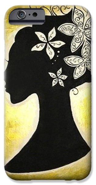 Bella Dama iPhone Case by Brandy Nicole Clark