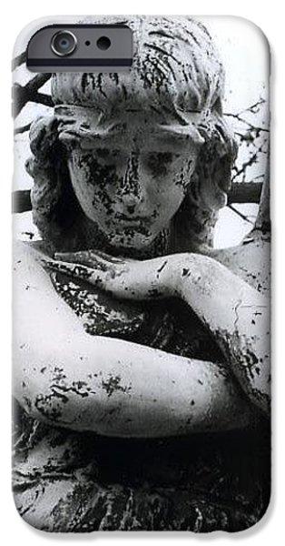 Bellefontaine Angel iPhone Case by Jane Linders