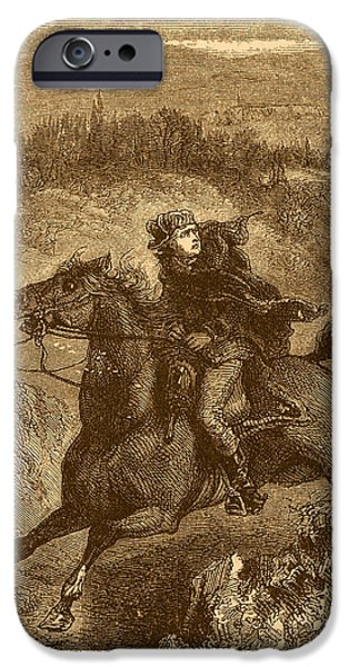 Benedict Arnold, American Traitor iPhone Case by Photo Researchers