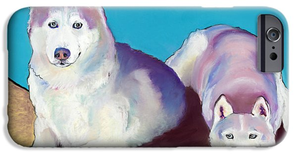 Northern Colorado iPhone Cases - Best Buddies iPhone Case by Pat Saunders-White
