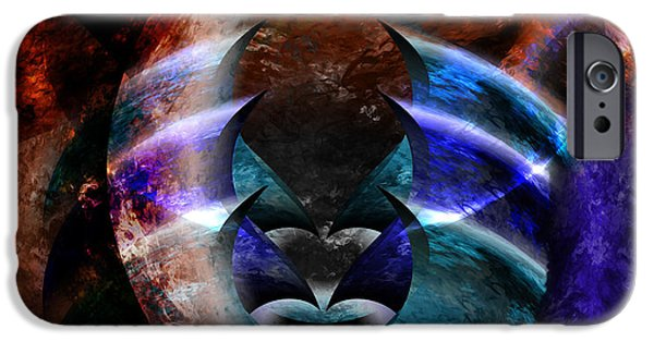 Discernment iPhone Cases - Beyond the Mask iPhone Case by Christopher Gaston