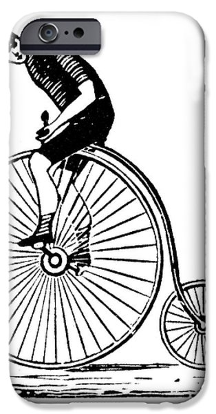 BICYCLING iPhone Case by Granger