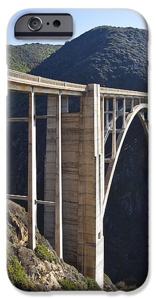 Bixby Bridge Crossing a Chasm iPhone Case by David Buffington