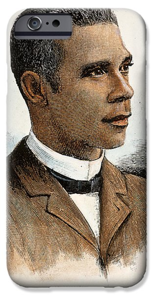 African-american Institute iPhone Cases - Booker T. Washington iPhone Case by Granger