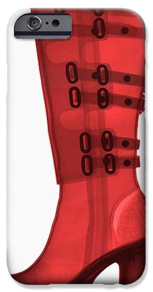 Boot, X-ray iPhone Case by Ted Kinsman