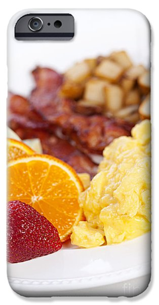 Toasting iPhone Cases - Breakfast  iPhone Case by Elena Elisseeva