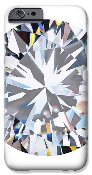 brilliant diamond iPhone Case by Setsiri Silapasuwanchai