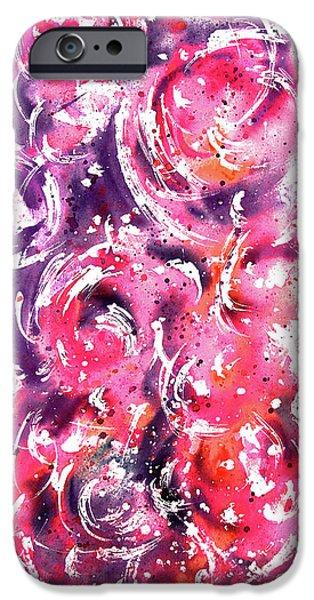 Bubbles iPhone Case by Rachel Christine Nowicki