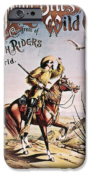 BUFFALO BILL: POSTER, 1893 iPhone Case by Granger