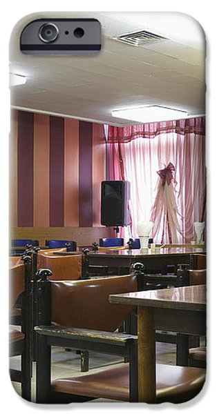 Cafe Seating iPhone Case by Magomed Magomedagaev