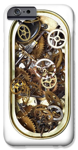 canned time iPhone Case by Michal Boubin