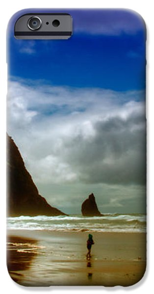 Cannon Beach at Dusk iPhone Case by David Patterson