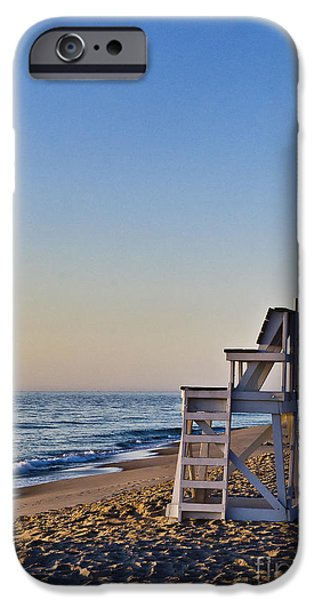 Cape Cod Lifeguard Stand iPhone Case by John Greim