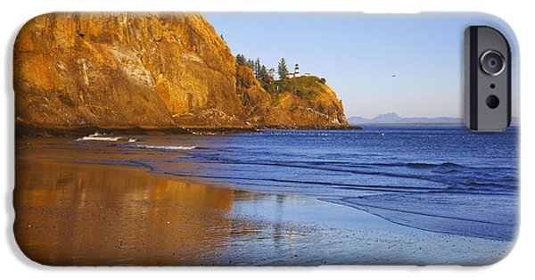 Cape Disappointment iPhone Cases - Cape Disappointment Lighthouse Ilwaco iPhone Case by Craig Tuttle