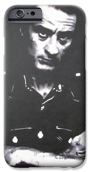 Al Pacino iPhone Cases - Cape Fear iPhone Case by Luis Ludzska