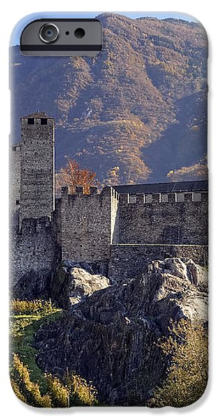 Castelgrande - Bellinzona iPhone Case by Joana Kruse