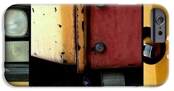 Machinery iPhone Cases - Caterpillar iPhone Case by Marlene Burns